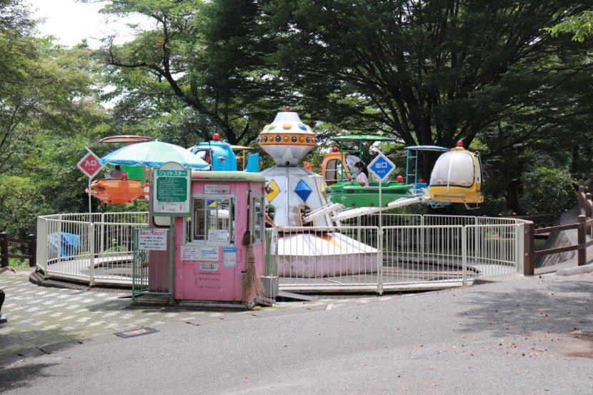 栃木県鹿沼市 千手山公園 遊具 子連れ