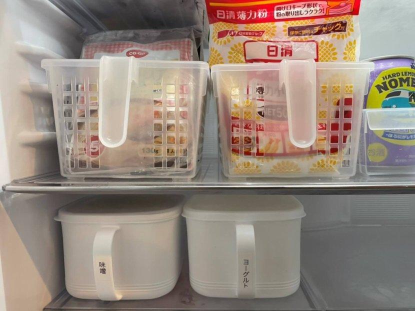 冷蔵庫 整理収納 スッキリ